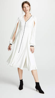 DAY Birger et Mikkelsen Adeam Buttoned V Neck Dress