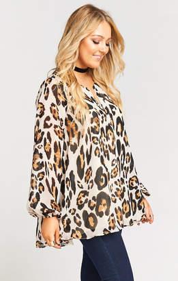 Show Me Your Mumu Jamie Tunic ~ Late Night Leopard