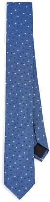 HUGO BOSS Micro Floral Print Tie