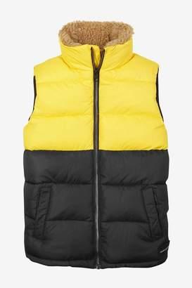 Calvin Klein Jeans Boys Boys Padded Gilet - Yellow