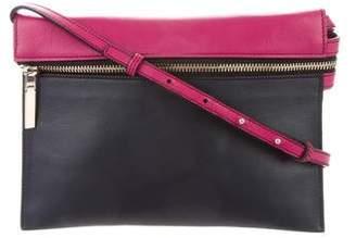 Victoria Beckham Bicolor Leather Crossbody Bag