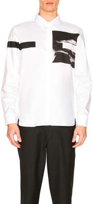 Neil Barrett Liquid Ink Square Shirt