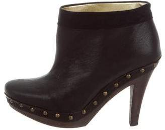 Stella McCartney Leather Studded Booties