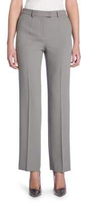Giorgio Armani Tab Front Wool Pants