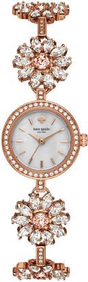 Kate Spade Women's Daisy Chain Rose Gold-Tone Stainless Steel Bracelet Watch 20mm