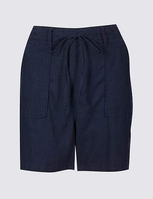 Marks and Spencer Linen Rich Casual Shorts