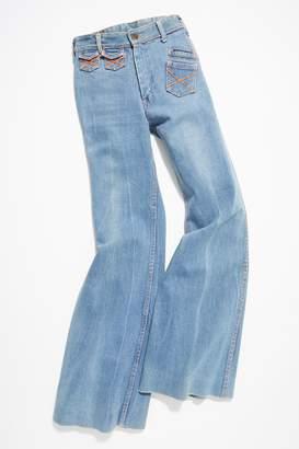 Vintage Loves Vintage 1960s Wide-Leg Jeans