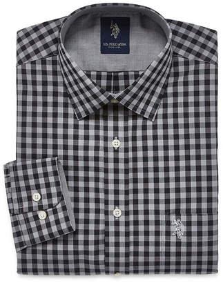 U.S. Polo Assn. USPA Slim Fit Easy-Care Long Sleeve Dress Shirt