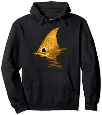 Tailing Redfish Hoodie | Red Drum Fish Hoodie | Redfish Tail