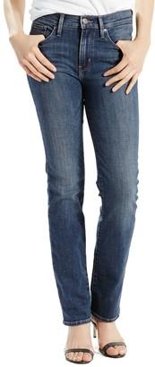 Levi's Levis Women's Slimming Straight-Leg Jeans