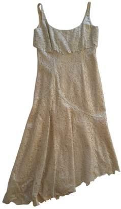 L'Wren Scott Gold Cotton Dress for Women