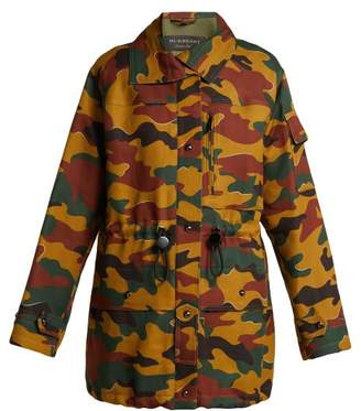 Burberry Camouflage Twill Jacket - Womens - Multi