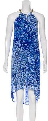 MICHAEL Michael Kors Printed Midi Dress