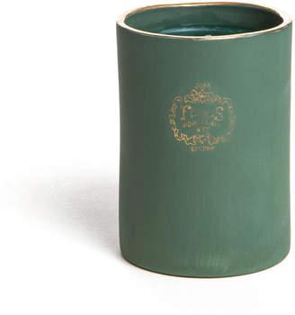"Joya 22K Gold Rim Candle ""Foxglove"""