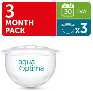 Aqua Optima 30 Day Water Filter - 3 Pack