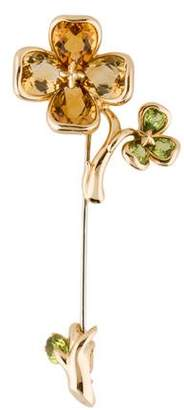 Chanel 18K Camila Flower Brooch