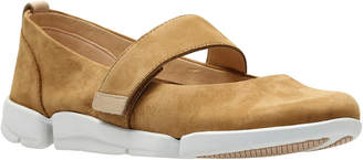 Clarks Tri Carrie Leather Flat