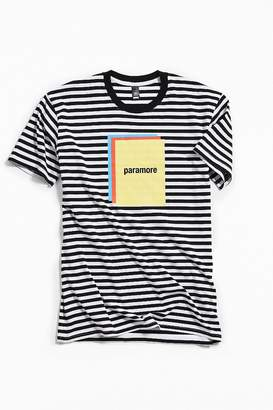 Urban Outfitters Paramore Striped Color Block Tee
