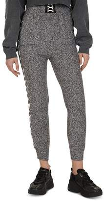 The Kooples Lace-Up Detail Jogger Pants