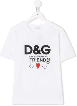 Dolce & Gabbana logo Friends T-shirt