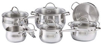 LAGOSTINA Bellissima 11-Piece Stainless Steel Cookware Set - Induction Ready