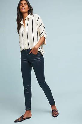 AG Jeans Low-Rise Faux Leather Leggings