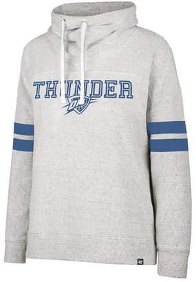 '47 Women Oklahoma City Thunder Offsides Funnelneck Sweatshirt