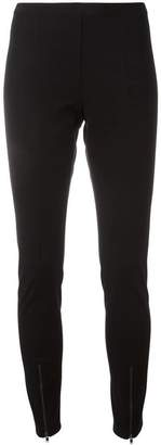 Helmut Lang zipped detailing leggings