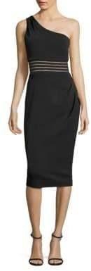 Nicholas One-Shoulder Sheath Dress