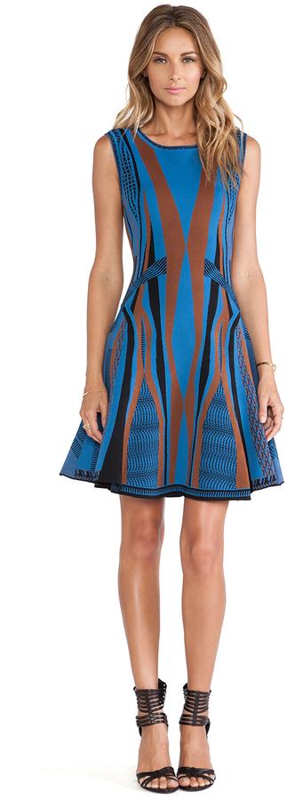 Diane von Furstenberg Gabby Fit & Flare Dress