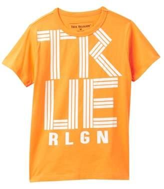 True Religion Linear Short Sleeve Tee (Toddler & Little Boys)