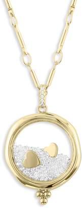 Lulu DK x Kristina Schulman Love Shaker Pendant Necklace