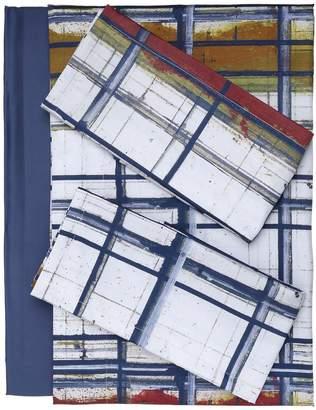 Trussardi Paint Collection Cotton Sheet Set