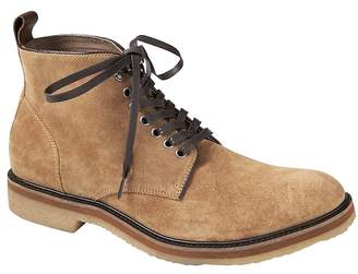 Banana Republic Paxton Suede Crepe-Sole Work Boot