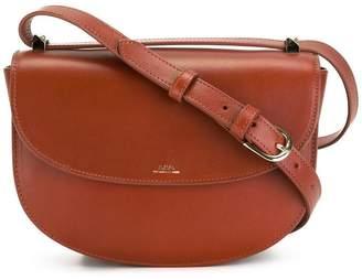 A.P.C. crossbody saddle bag