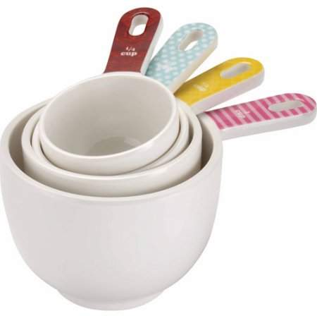Cake Boss Countertop Accessories 4-Piece Measuring Cup Set, Basic