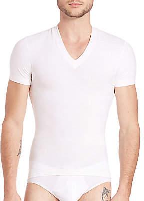 2xist Men's Form Slimming V-Neck