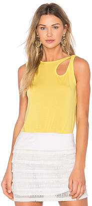 Bailey 44 Plantain Tank in Yellow $98 thestylecure.com