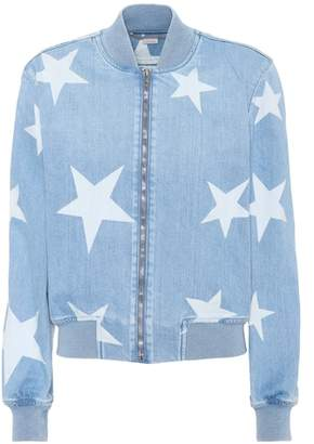 Stella McCartney Denim bomber jacket