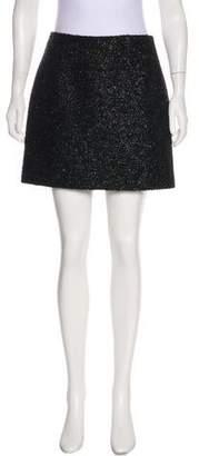 Victoria Beckham Victoria, Textured Mini Skirt