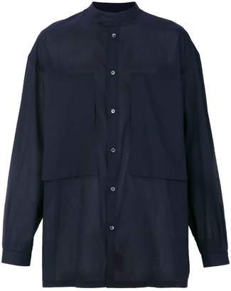 E. Tautz mandarin collar Lineman shirt