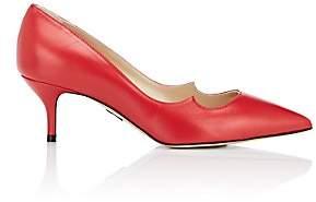 Paul Andrew Women's Zenadia Eel-Skin Pumps-Red