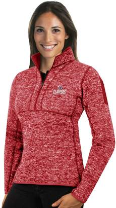 Antigua Women's Los Angeles Clippers Fortune Pullover
