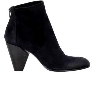 Elena Iachi Notte Leather Ankle Boots