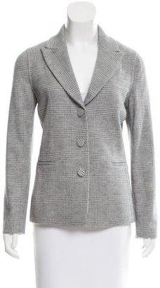 Giorgio Armani Cashmere & Wool-Blend Plaid Blazer $125 thestylecure.com