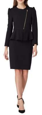 Tahari Arthur S. Levine Peplum Skirt Suit