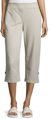 Neon Buddha Zen Capri Pants, Stone, Plus Size $145 thestylecure.com