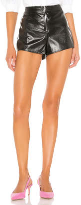 superdown Eda Faux Leather Short