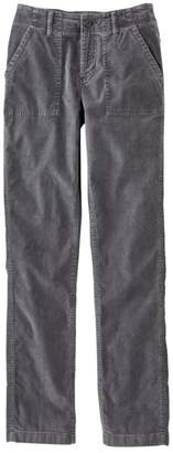 L.L. Bean L.L.Bean Women's Soft-Washed Utility Corduroy Pants