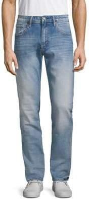 Vigoss Faded Slim-Fit Jeans